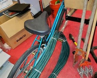 Vintage Murry bicycle. hose, more