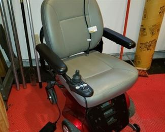Motorized wheelchair mint condition.