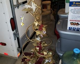 Fun Christmas tree decoration