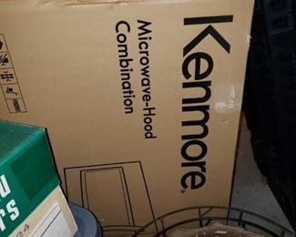 NIB Kenmore microwave-hood combo