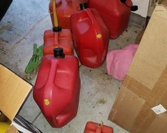 Gas cans!