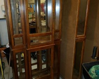 Several display cabinets