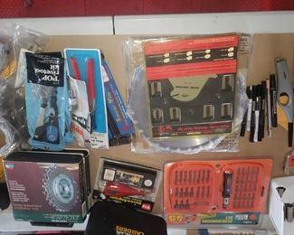 Misc tool sets...NIB