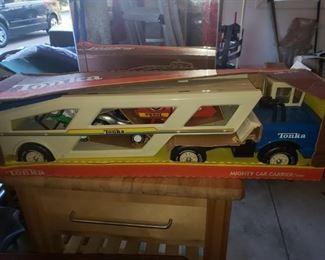 Vintage Tonks truck NIB