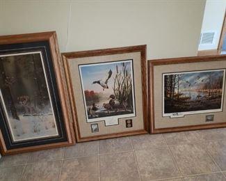 More wildlife prints.