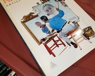 Norman Rockwell coffee table book.