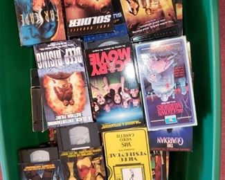 Approximately 3000+ VHS movies!
