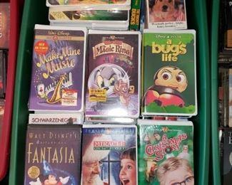 Disney VHS.