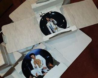 Elvis decorative plates
