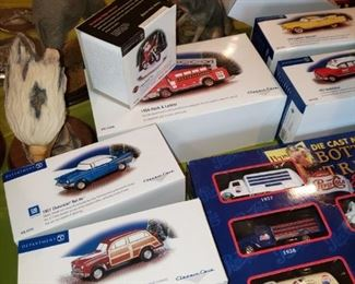 More die cast collectibles
