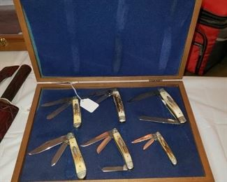 Pocket knife collection