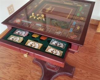 Limited edition Monopoly game with pedestal stand -- WOW!