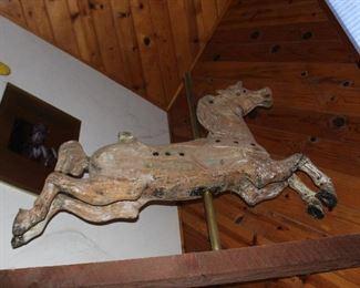 Full Size Wood Carousel Horse