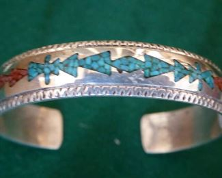 Tom Singer sterling bangle