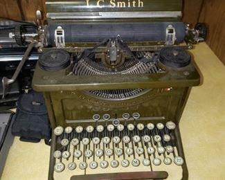 Antique L.C. Smith Secretarial typewriter