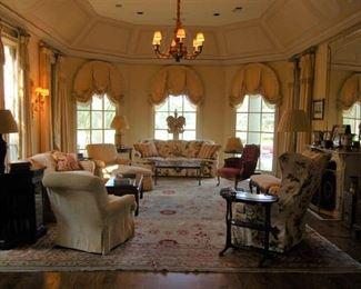Formal living salon