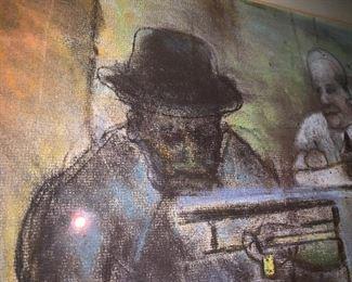 "Detail of ""Selma Meat Market"""