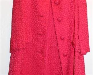 Vintage Christian Dior dress and coat