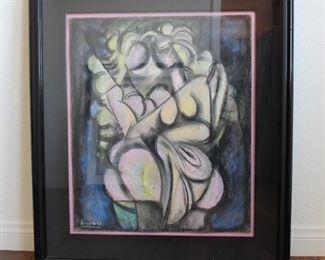 Original artwork by listed artist  Ugin Kaspin