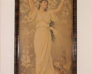 "1885-1905   ""Hope"" Lithograph"