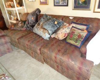pair matching sofas