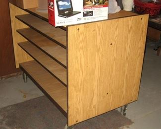 Drafting or Artwork Cabinet on Rolling Wheels