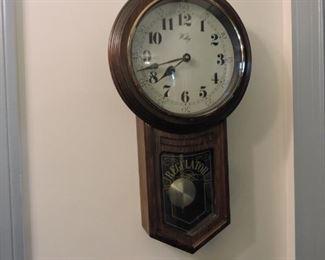 Wall Clock- Welby schoolhouse style clock