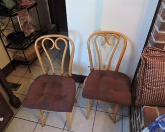 Bentwood kitchen dining chairs- 3 total chairs available