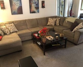 Really Nice Sectional with Chaise Lounge