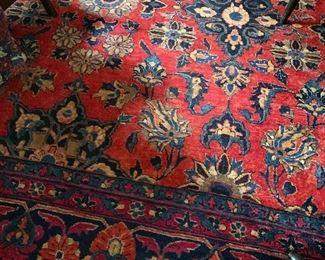 Detail Sarouk rug