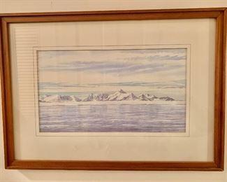 Scene from Antartica