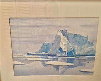 Antartica painting