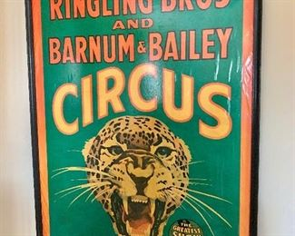 Ringling Bros and Barnum and Bailey Circus poster