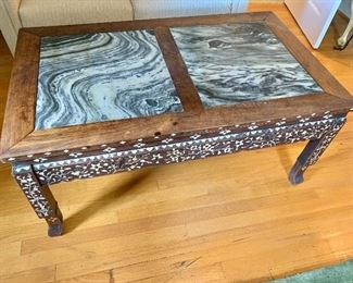 Chinese marble laundry table