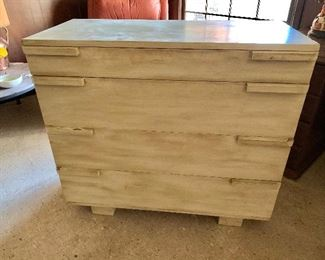 Herman Miller painted dresser