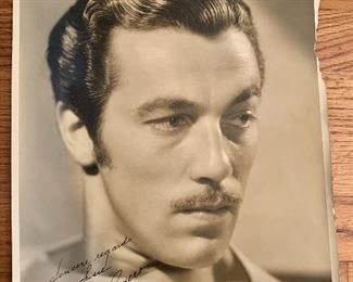 Cesar Romero signed photo