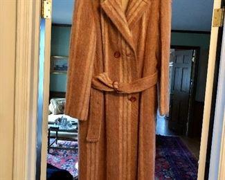 Garfinkels mohair coat