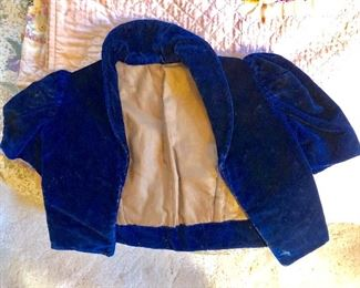 Chile's velvet jacket