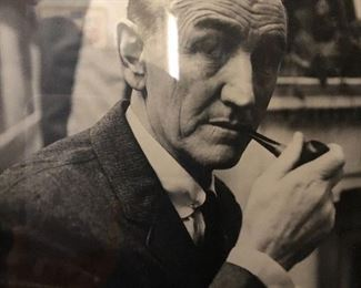 Mike Mansfield signed photo