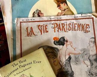 Vintage magazines - Art Deco La Vie Parisienne 1922