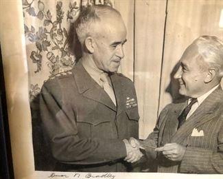 General Omar Bradley photo