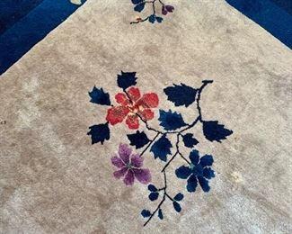 Detail Chinese rug