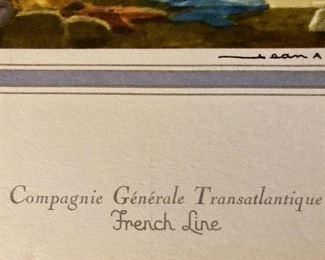 Compagnie Generale Transatlantique  - French Line