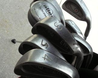 Set of Ping Irons , Wedge and Putter