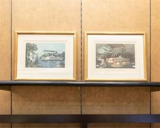 We have 5 steamboat pictures in this sale...