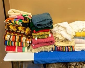 Hand made Afghans!