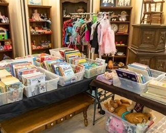 TONS of great children's books!