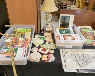 70's & 80's Family Circle, etc. Magazines, MANY art books, needlework, and pattern books!