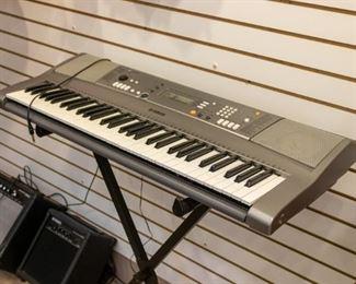 Yamaha YPT 310 keyboard works great!