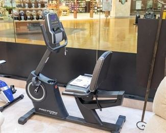 Pro-Form 6.0 recumbent in excellent condition.